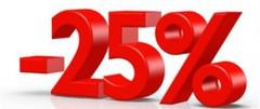 Offre spéciale -25%