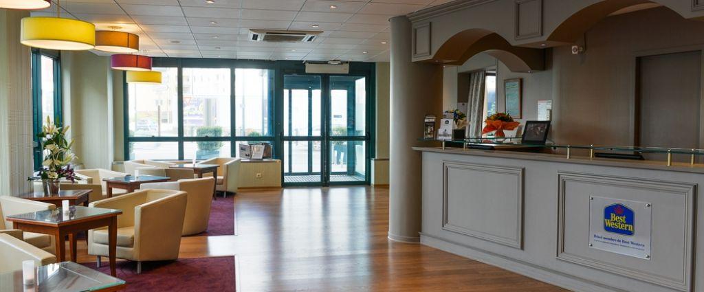 Hôtel 3 étoiles Annecy - Réception - Best Western hôtel International Annecy - Longitude Hotel