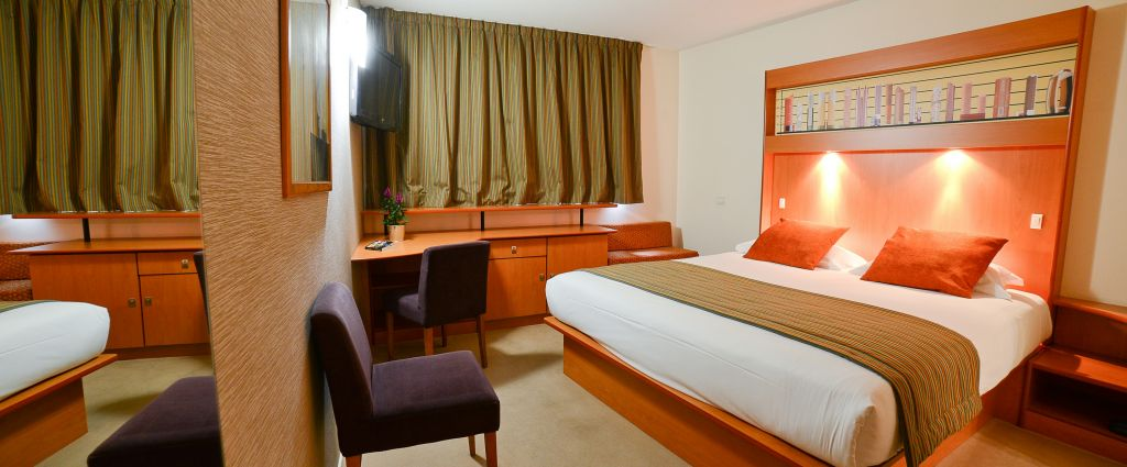 Hôtel 4 étoiles Genève - Chambre - Best Western porte Sud Genève - Longitude Hotel