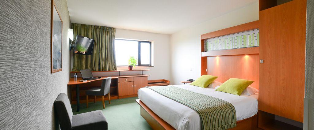 Hôtel 4 étoiles Genève - Chambre supérieure double - Best Western porte Sud Genève - Longitude Hotel