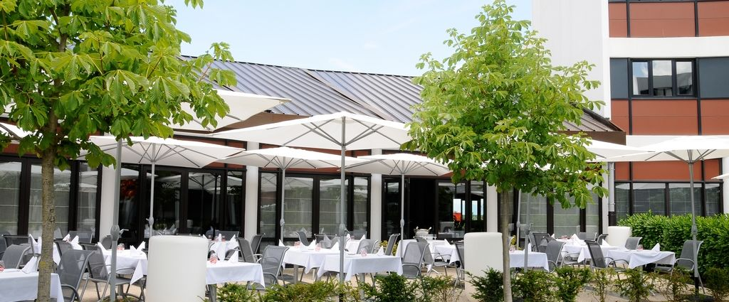 Hôtel 4 étoiles Genève - Terrasse - Best Western porte Sud Genève - Longitude Hotel