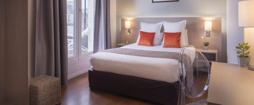 Hôtel 3 étoiles Paris - Chambre supérieure - Classics Hotel Bastille - Longitude Hotel