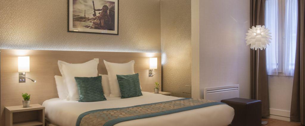 Hôtel 3 étoiles Paris - Chambre Triple - Classics Hotel Bastille - Longitude Hotel