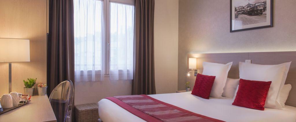Hôtel 3 étoiles Paris - Chambre confort - Classics Hotel Bastille - Longitude Hotel