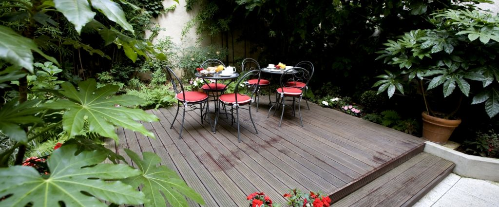 Hôtel 3 étoiles Paris - Jardin intérieur - Classics Hotel Bastille - Longitude Hotel