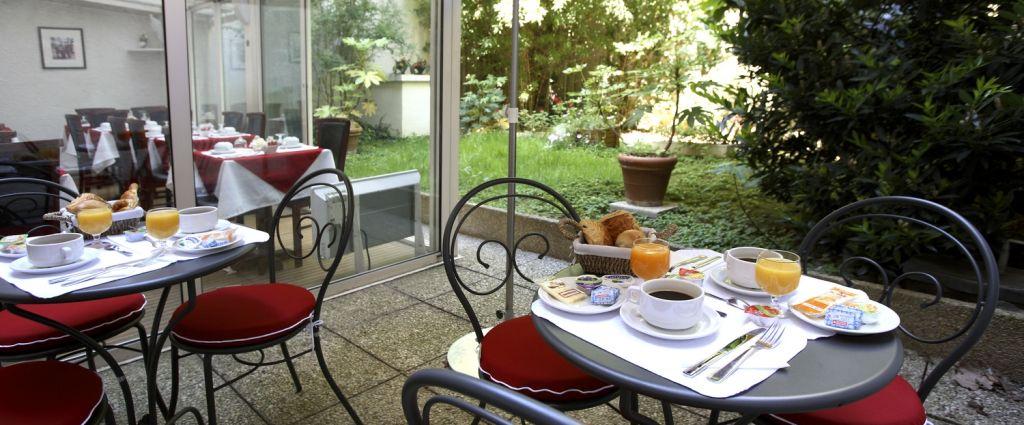 Hôtel 3 étoiles Paris - Terrasse - Classics Hotel Bastille - Longitude Hotel