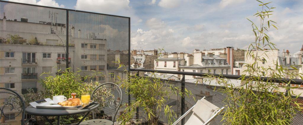 Hôtel 3 étoiles Paris - Chambre avec vue sur Paris - Classics Hotel Bastille - Longitude Hotel