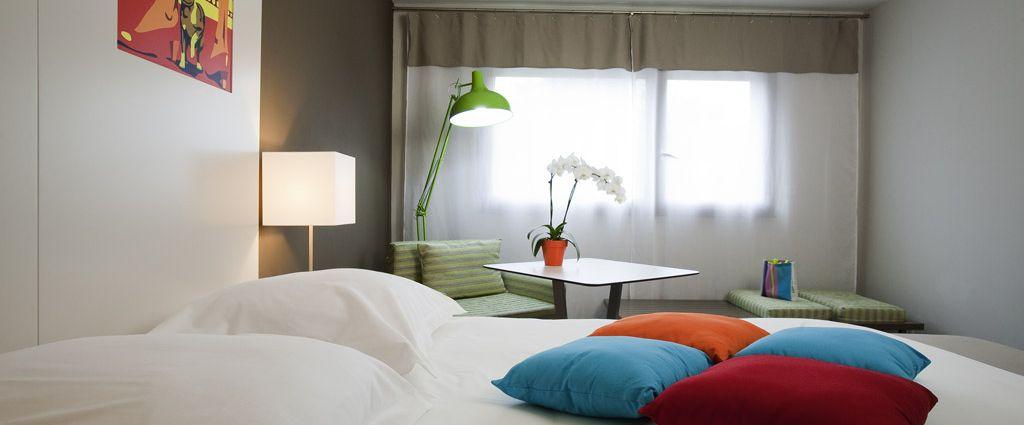 Hôtel 3 étoiles Ambilly - Chambre Triple - Ibis Style Annemasse Genève - Longitude Hotel