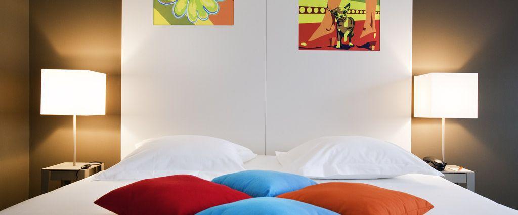Hôtel 3 étoiles Ambilly - Chambre double confort - Ibis Style Annemasse Genève - Longitude Hotel