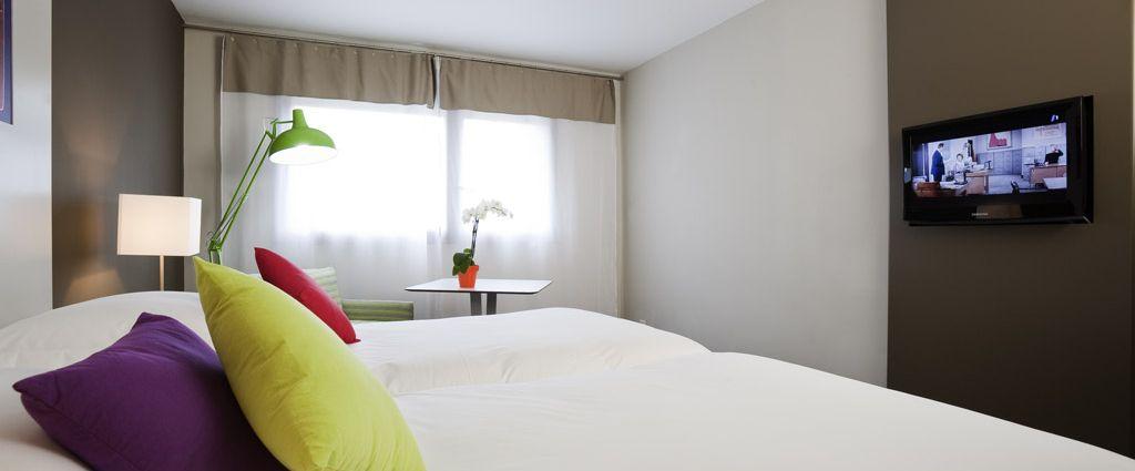 Hôtel 3 étoiles Ambilly - Chambre - Ibis Style Annemasse Genève - Longitude Hotel