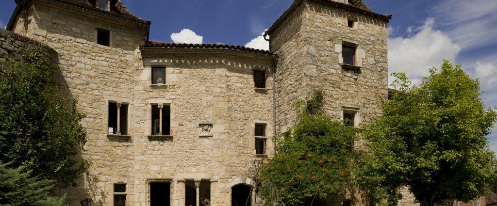 Hôtel 3 étoiles Quercy - Façade - Château de Saint-Cirq Lapopie - Longitude Hotel