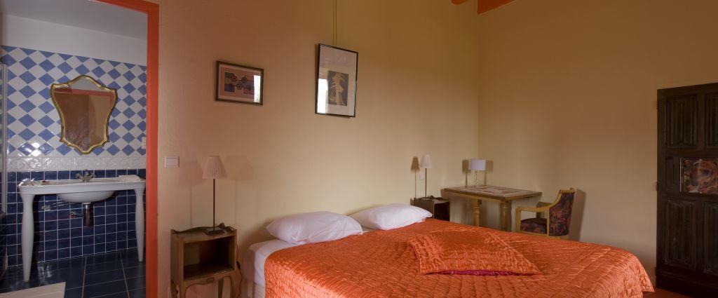 Hôtel 3 étoiles Quercy - Chambre - Château de Saint-Cirq Lapopie - Longitude Hotel