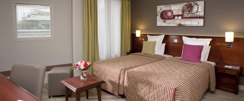 Hôtel 3 étoiles Issy Les Moulineaux - Chambre - Classics Hotel Parc des Expositions - Longitude Hotel