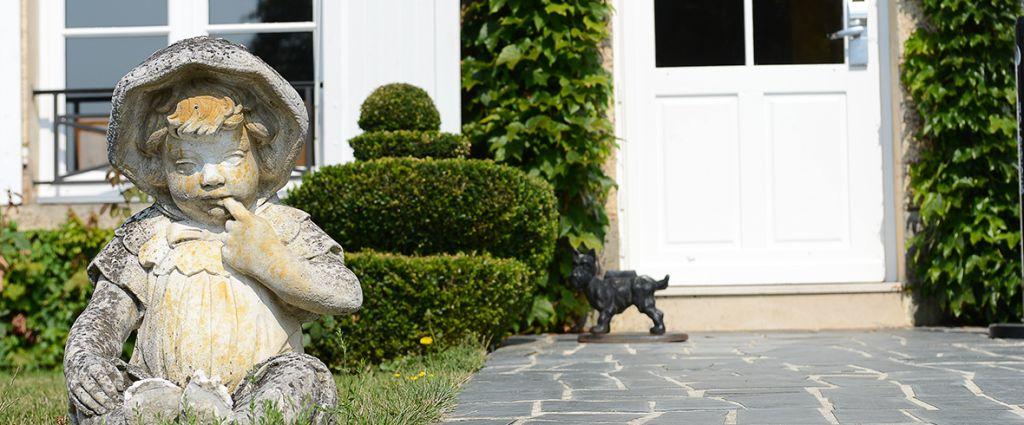 Hôtel 4 étoiles Seine-et-Marne - Statue - Château de Sancy - Longitude Hotel