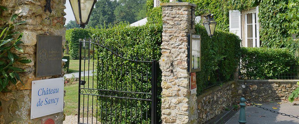 Hôtel 4 étoiles Seine-et-Marne - Portail - Château de Sancy - Longitude Hotel